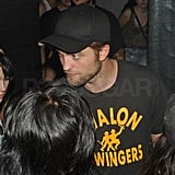 Robert Pattinson showed up to weekend two of Coachella.