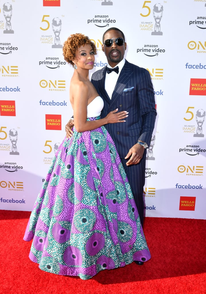 This Is Us's Randall and Beth Pearson could learn a thing or two from Sterling K. Brown and Ryan Michelle Bathe. The stunning couple stepped out for the 2019 NAACP Image Awards on Saturday night, and they absolutely glowed on the red carpet — and that was before Sterling's Black Panther win for outstanding ensemble cast in a motion picture!  Sterling and Ryan fell in love at Stanford University, and married in June 2007. They are parents to two adorable sons, Andrew and Amaré, and frequently gush about their sweet family bond on the red carpet and on Instagram. It's pretty clear they're still smitten with each other!       Related:                                                                                                           If You Thought Sterling K. Brown and His Wife Couldn't Get Cuter, Wait Till You See Their Secret Handshake