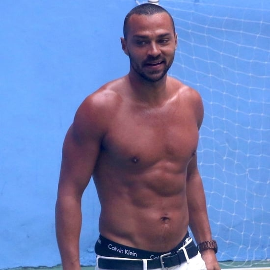 Jesse Williams Shirtless in Brazil Pictures January 2018