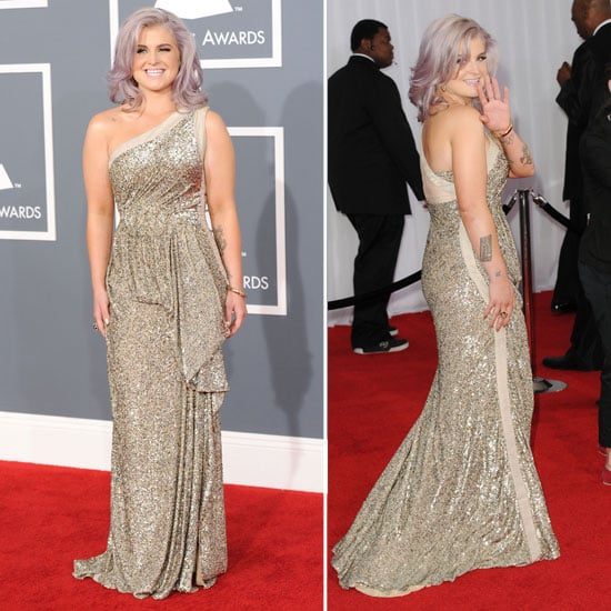 Pictures Of Kelly Osbourne In Tony Ward Couture Gown At The 2012 Grammy Awards