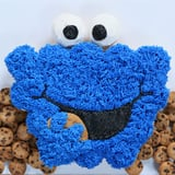 Cookie Monster Pull-Apart Cake