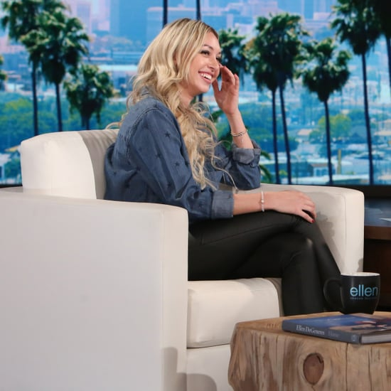 Corinne From The Bachelor on The Ellen DeGeneres Show 2017