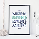 Quote Poster ($12)