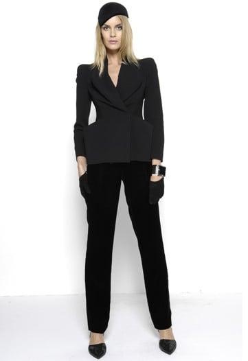 Giorgio Armani Focuses on Ladylike Tailoring for Pre-Fall 2010
