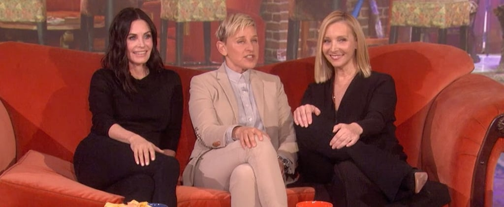 Courteney Cox Lisa Kudrow Friends Reunion on Ellen Video