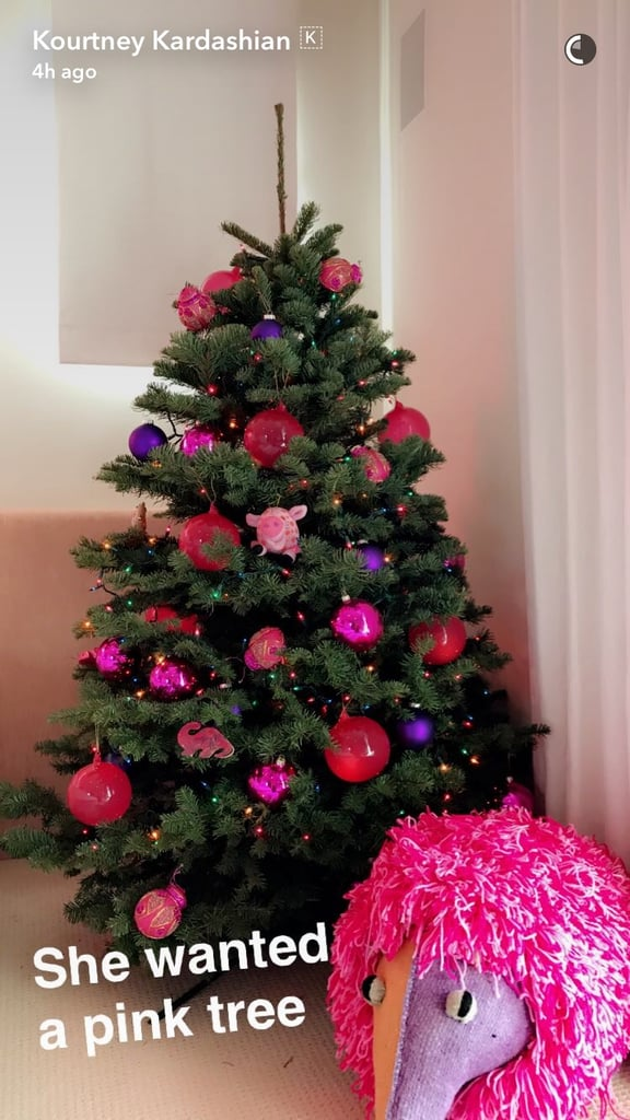 Inside Penelope Disick\'s Christmas Bedroom | POPSUGAR Home