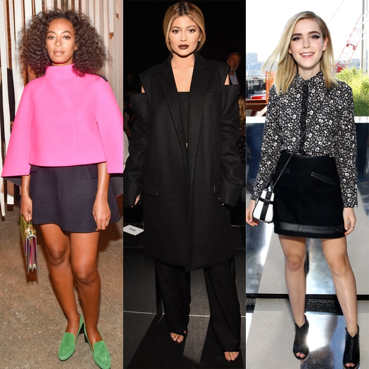 NYFW's Front Row Is Looking Extremely Fierce