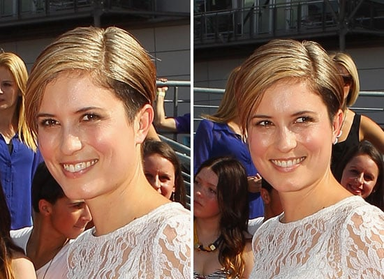 Pictures of Missy Higgins with Blonde Cropped Hair and Soft Makeup from the 2011 ARIA Awards
