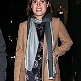 Princess Eugenie's Blue Scarf