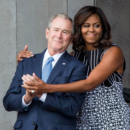 Are Michelle Obama and George W. Bush Friends?