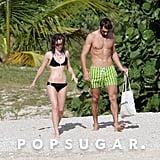 Emma Watson in a Bikini With Boyfriend Matthew Janney