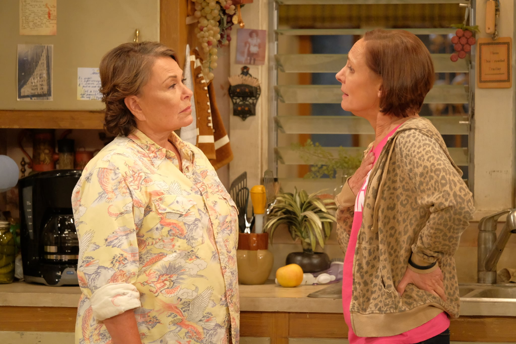 'Roseanne' returns to TV as a Trump supporter