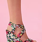 Florals are a no-brainer for the season, and these sweet, girlie wedges can easily kick up your denim cutoffs or floaty dresses. Nasty Gal Wildflower Platform Wedge ($48)