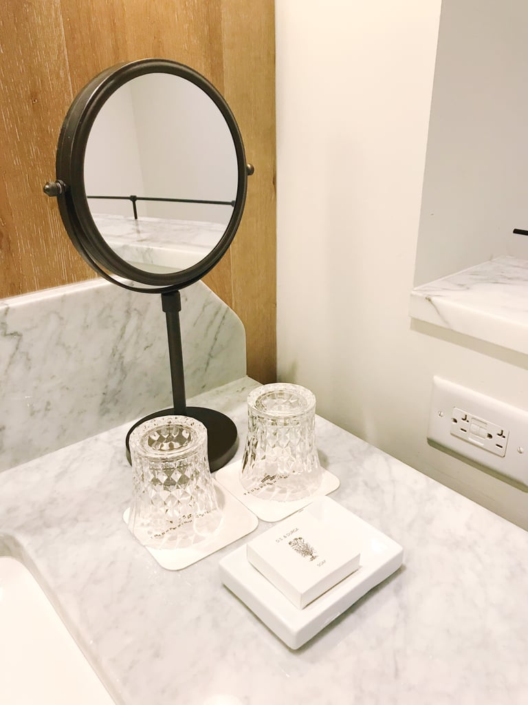 More detail shots of the bathroom. | Thompson Nashville Hotel Review ...