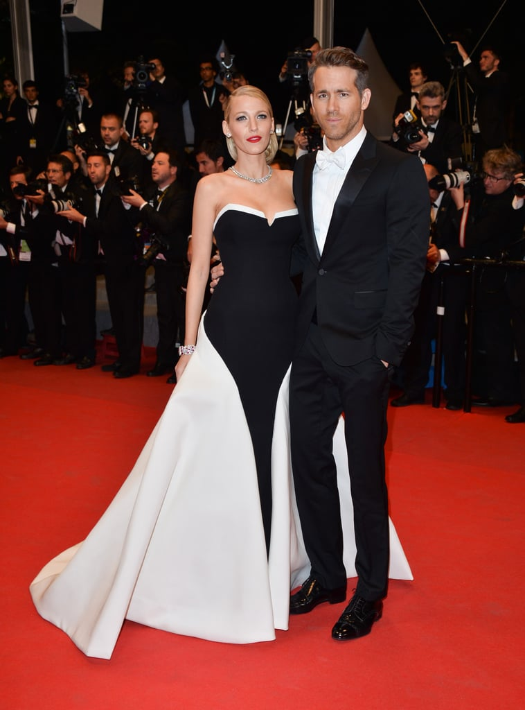 Wearing a Gucci gown to the 2014 premiere of Captives in Cannes.