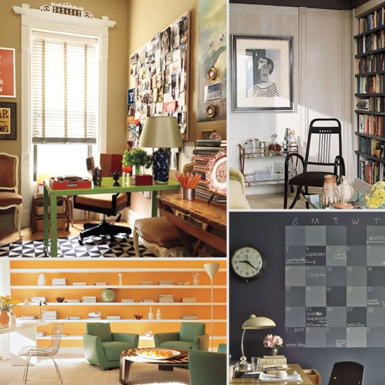 70 Simple Home Office Decor Ideas For Men: Home Office Decorating And Organizing