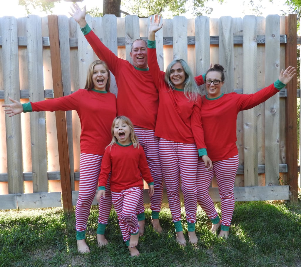 Matching Family Christmas Pajamas Popsugar Moms
