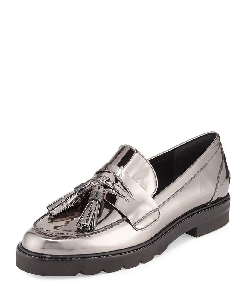 e9e7b91b171 Stuart Weitzman Manila Leather Tassel Loafer ( 445)