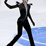 An Olympic Figure Skater
