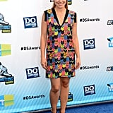 Kristen Bell stepped onto the blue carpet at the Do Something Awards.