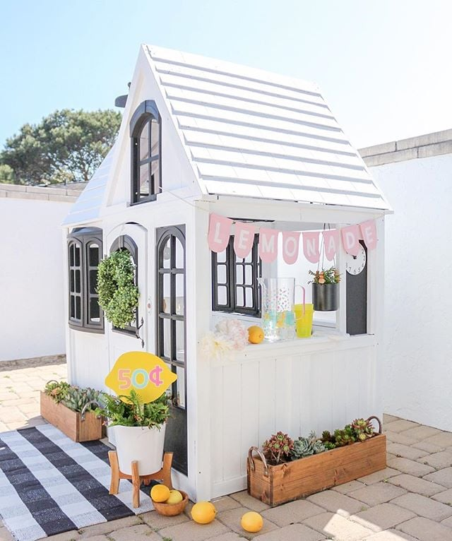Outdoor Playhouse Ideas For Kids   POPSUGAR Family
