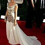 Sienna Miller Wore Marchesa to the 2007 Golden Globe Awards