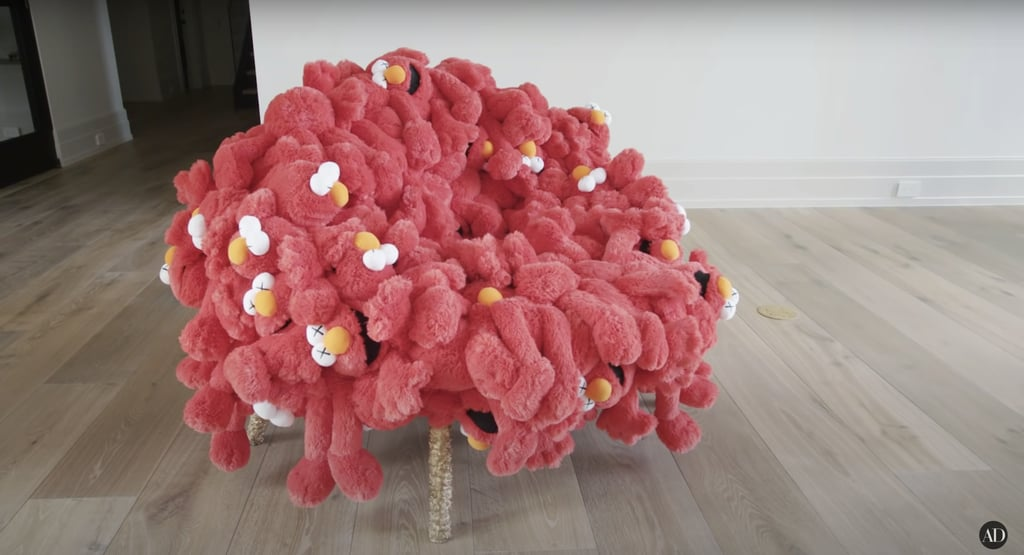 Check out this supercool Kaws chair.