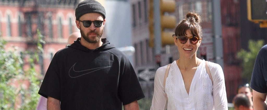 Justin Timberlake Holds Hands With Jessica Biel After Rocking the Stage in the Hamptons