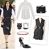 Take a style cue from Caroline Issa, and pull off a menswear-meets-womenswear look at the office.