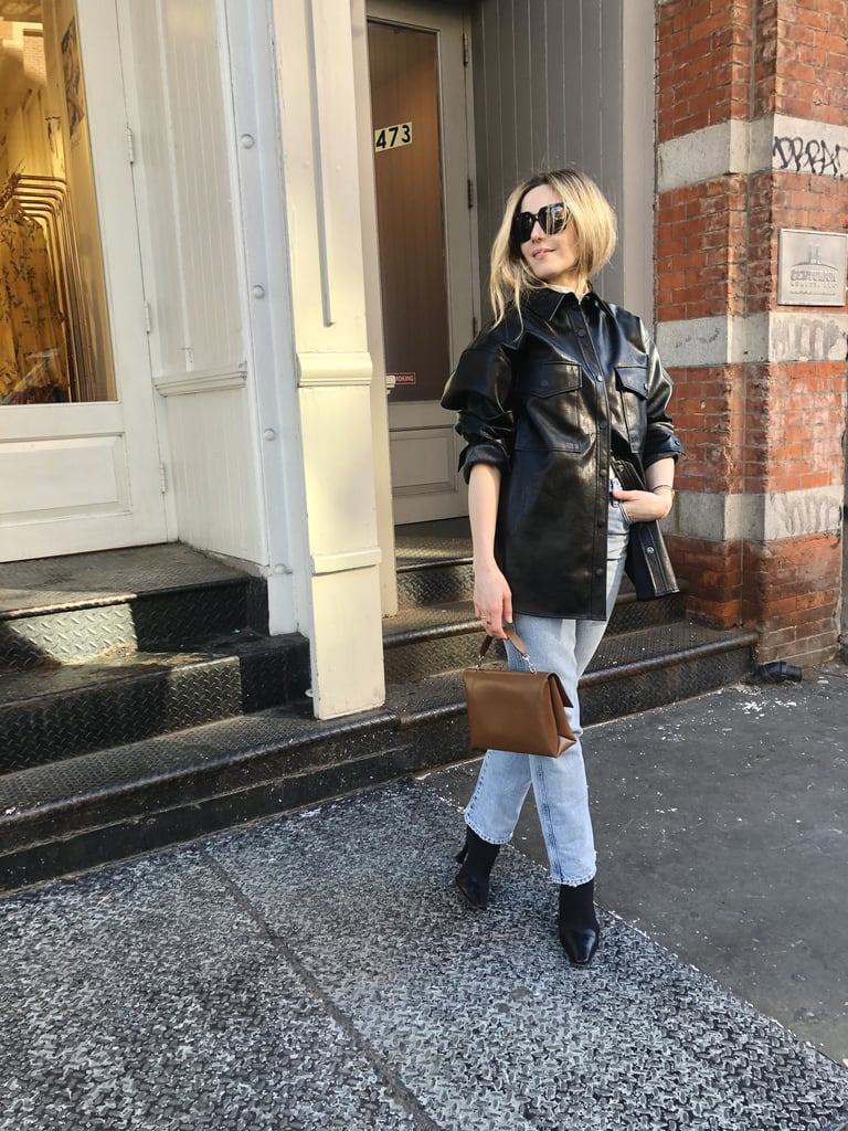 Ways to Wear Leather: A Shirt