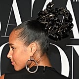 Alicia Keys's Gilded Braided Updo