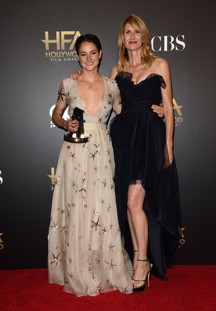 Shailene Woodley and Laura Dern