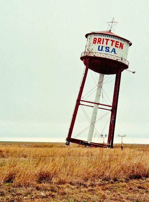 Leaning Water Tower (Groom, TX)