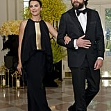 Keri Russell and Matthew Rhys at State Dinner August 2016
