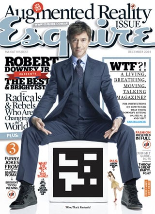 Esquire's December Issue Will Feature Augmented Reality