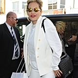 Rita Ora's Marni mirrored oval sunglasses ($586) are certainly not for the fashion shy — but they're guaranteed to make you stand out.