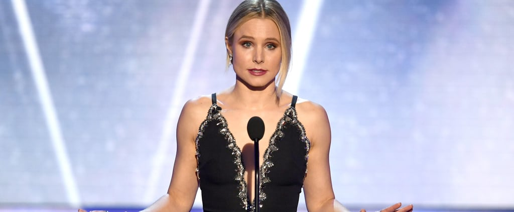 You Might Have Missed Kristen Bell's Subtle Melania Trump Diss at the SAG Awards