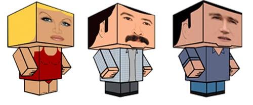 Holy TV Character Cubeecrafts, Batman!