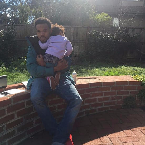 Chance the Rapper With Daughter Kensli Bennett Pictures