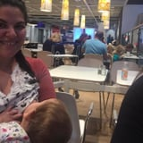 What This Badass Woman Did After Another Mom Shamed Her For Breastfeeding in Public