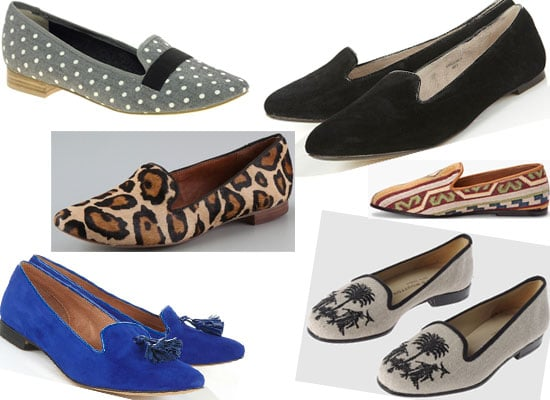 Shoe Trend We Love: Slippers! Shop The Top Ten Slipper Style Flats Online, from Charlotte Olympia, Topshop, Surface to Air