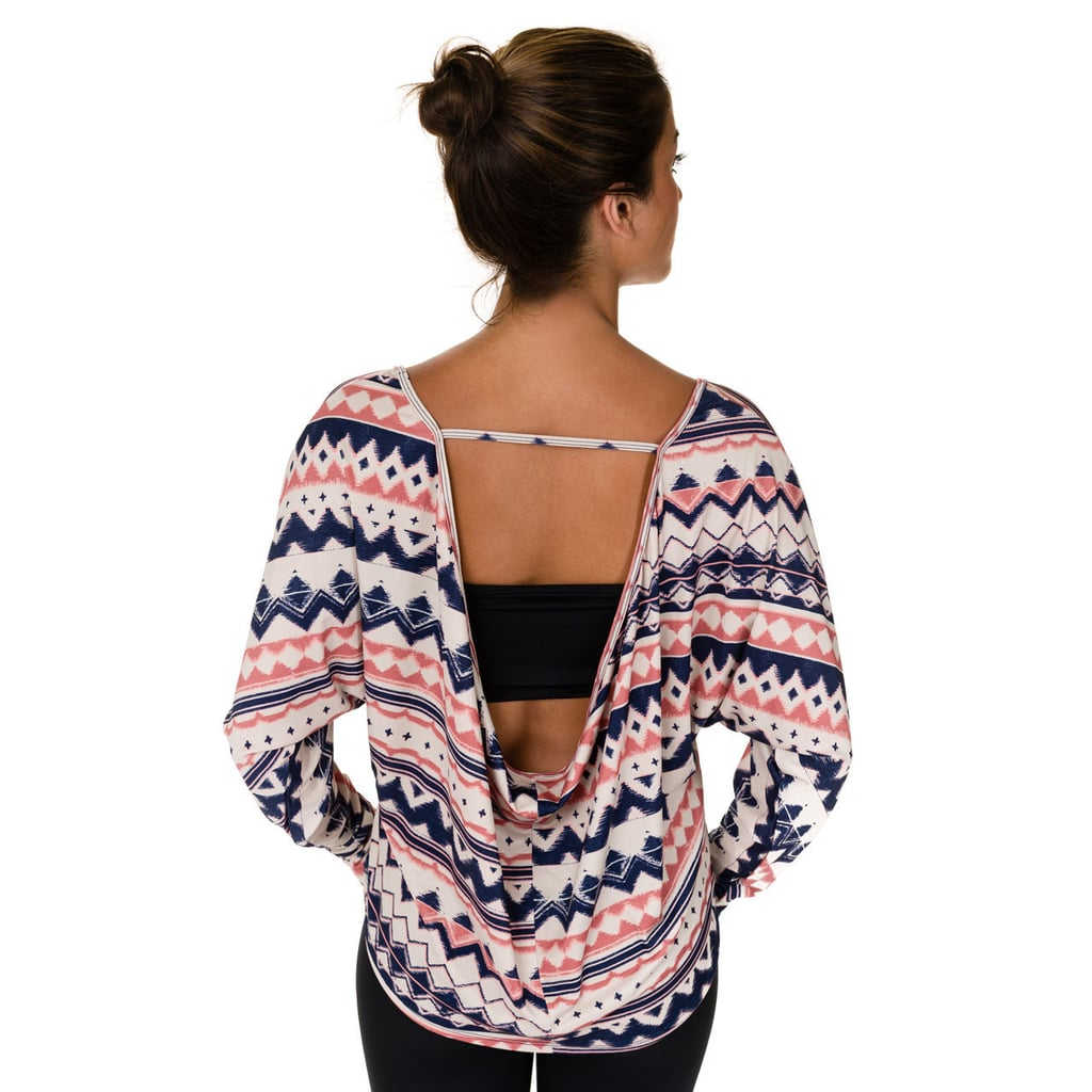 Scoop-Back Top