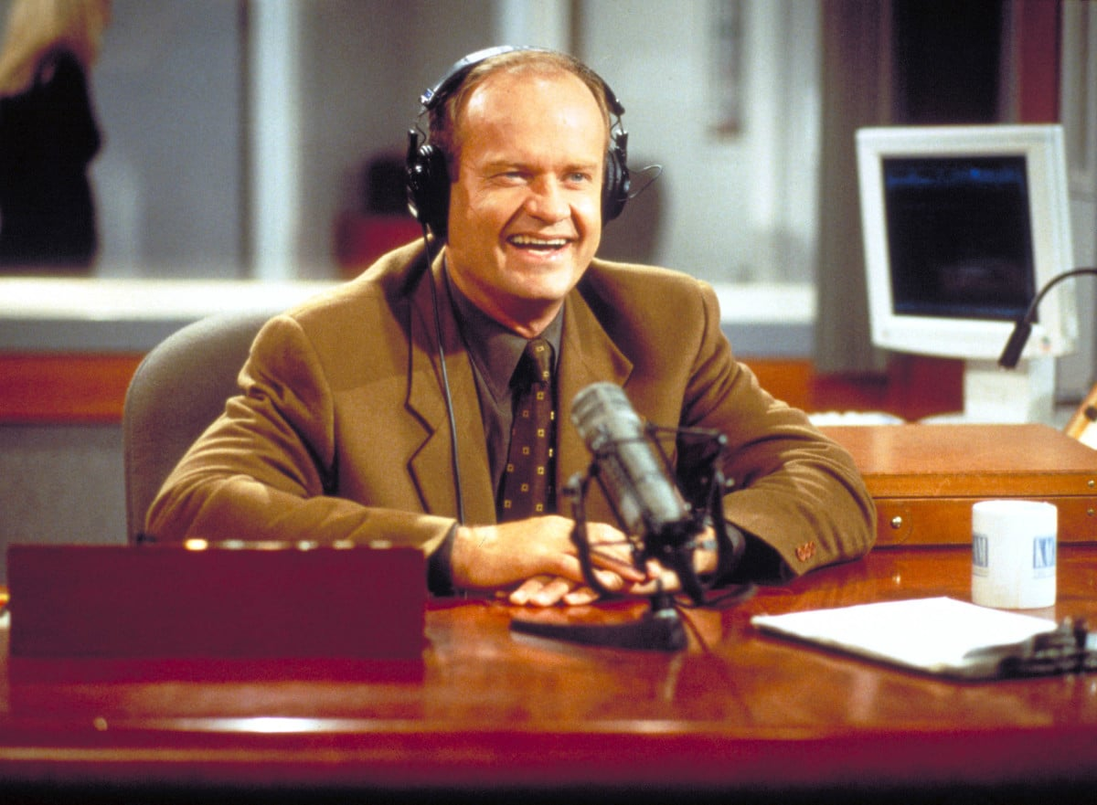 Actor Kelsey Grammer as Frasier Crane in NBC''s television comedy series