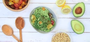 Inflammation-Reducing Avocado Pesto Zoodles Will Be Your Go-To Summer Lunch