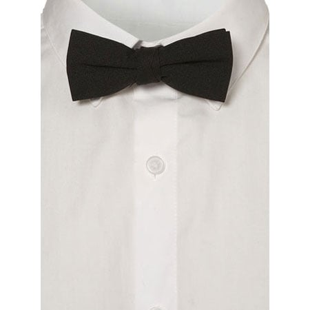 There's nothing cooler (or more playful) than wearing a bow tie, and it makes for a great borrowed-from-the-boys look. Topman Black Textured Bow Tie (approx $12)