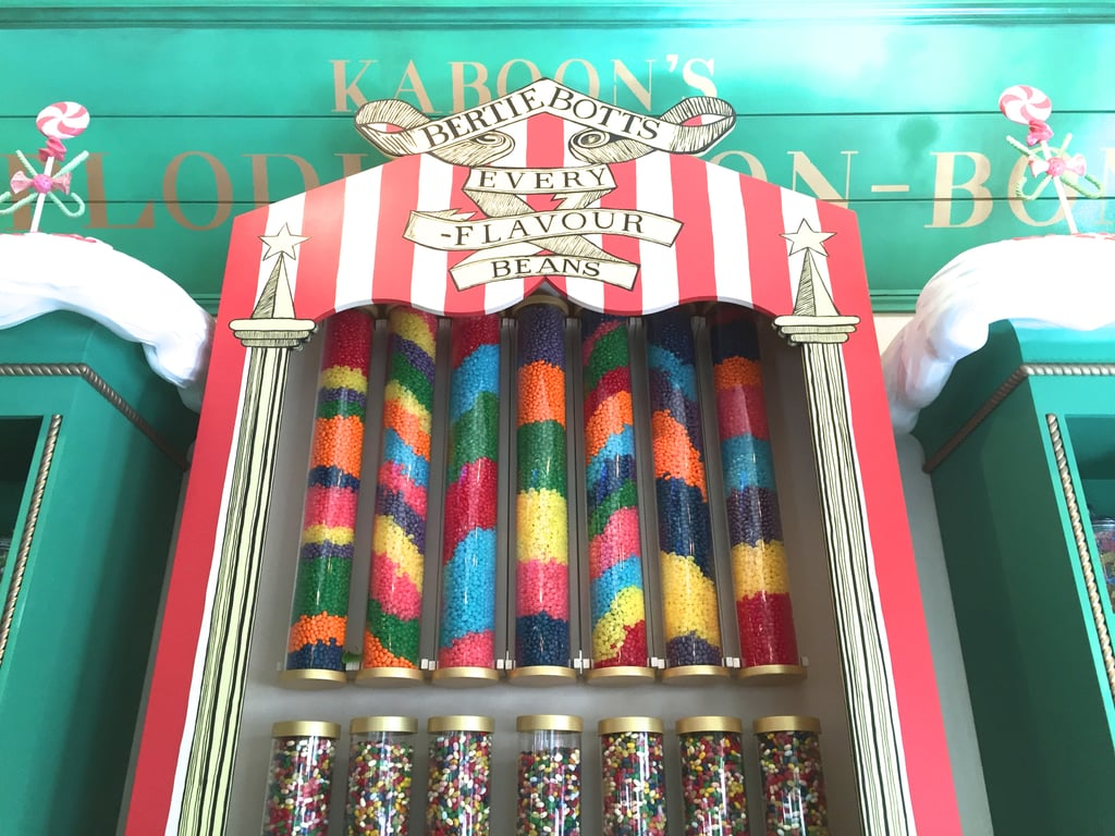 Honeydukes has no shortage of Wizarding World sweets.