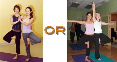 Partner Yoga Pose:  Double Tree