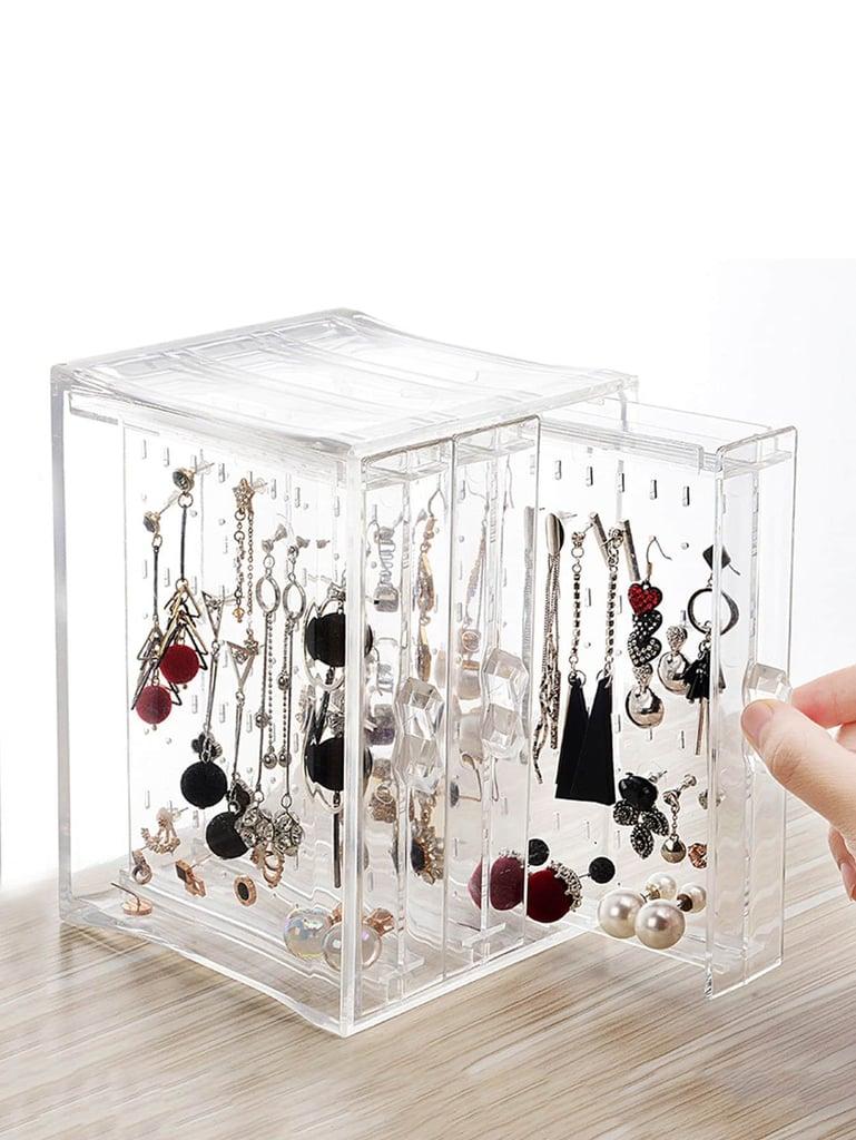 Clear Jewelry Storage Box