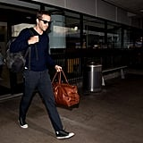 Blake Lively and Ryan Reynolds at Airport | Pictures