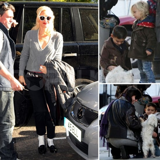 Kingston and Zuma Rossdale Pictures With Daisy Lowe, Uncle Monty